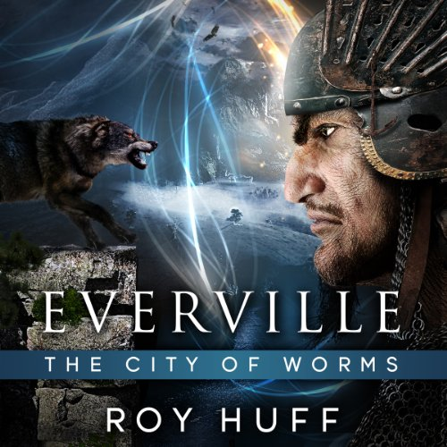Everville audiobook cover art