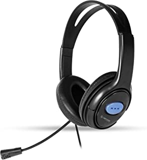 LAPCARE Stereo Headset LWS-004 Headphone with Flexible Mic for PC, Mobiles, Play Station, Xbox, Tablets