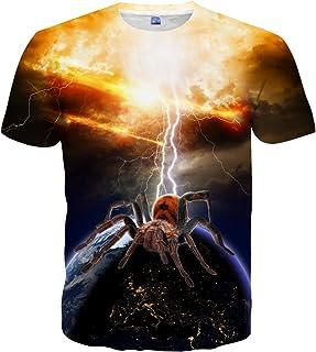 Hgvoetty Unisex Print Shirts Animal