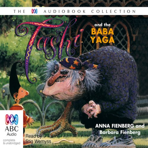 Tashi and the Baba Yaga audiobook cover art