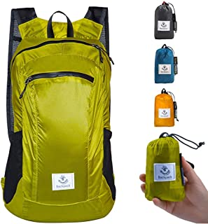 Hiking Daypack,Water Resistant Lightweight Packable Backpack for Travel Camping Outdoor
