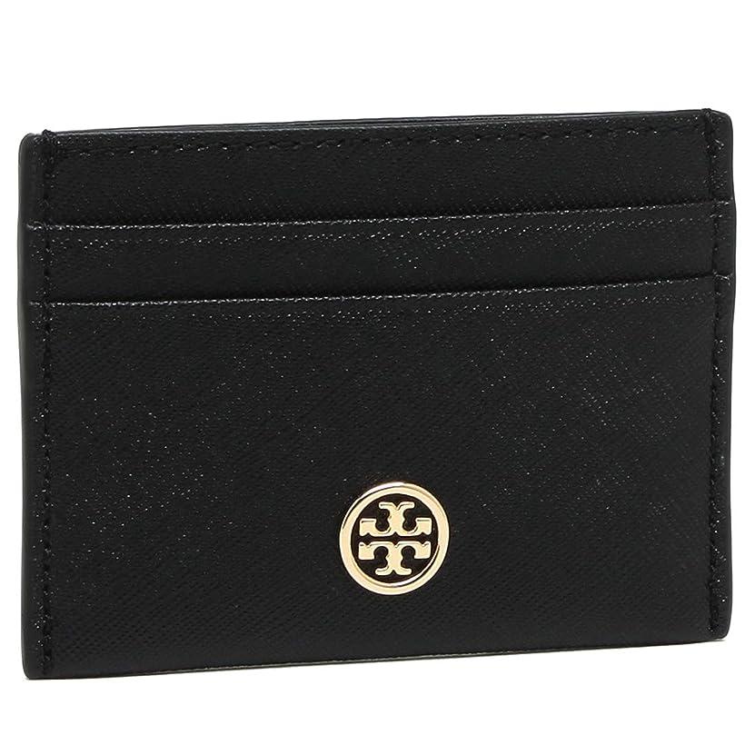 オートマトン最後に好きである[トリーバーチ]カードケース TORY BURCH 54886 ROBINSON CARD CASE 名刺入れ?カードケース (1)001 BLACK [並行輸入品]