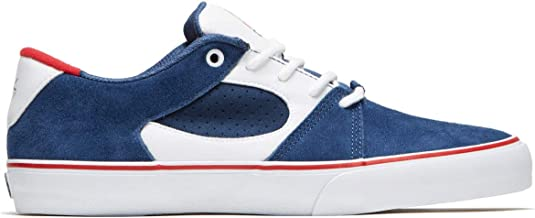 eS Skateboard Shoes Square Three Navy/White/Red