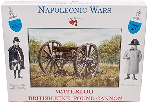 A Call To Arms 1 32 NapÃleonic British 9lb Cannon by A Call To Arms