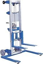Genie Lift, GL- 8, Straddle Base - Heavy-Duty Aluminum Manual Lift, 400 lbs Load Capacity, Lift Height 10' 0.5
