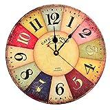 teckpeak 12pulgadas reloj de pared