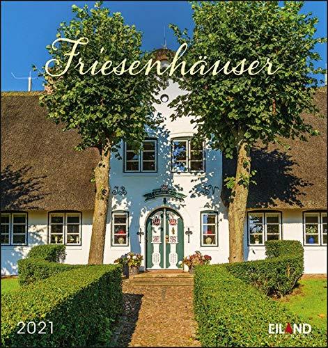 Friesenhäuser Nah & Fern Postkartenkalender 2021 - Kalender mit perforierten Postkarten - zum Aufstellen und Aufhängen - mit Monatskalendarium - Format 16 x 17 cm