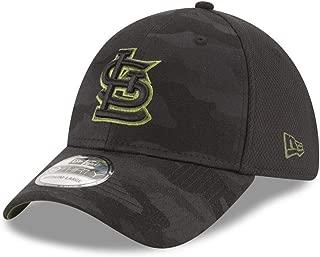 New Era Authentic St. Louis Cardinals Black 2018 Memorial Day 39THIRTY Flex Hat