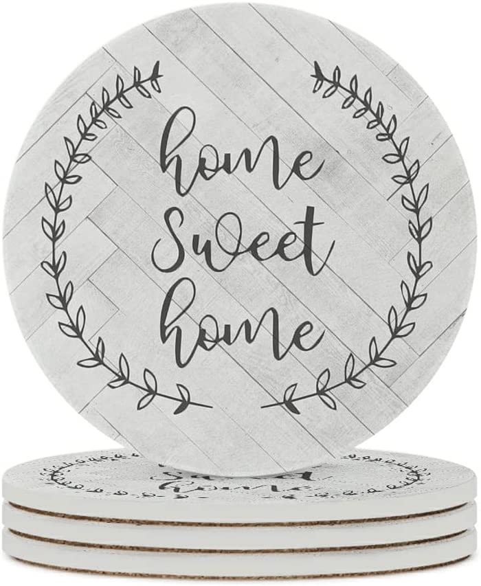 Cheers New mail order Bithches Coasters for Elegant Drinks Absorbent Stone