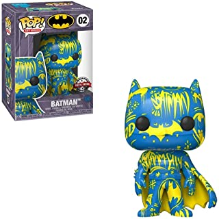 Funko POP! Art Series: DC Comics #02 - Batman [Blue & Yellow] Artist Series Exclusive with Hard Stack POP! Protector