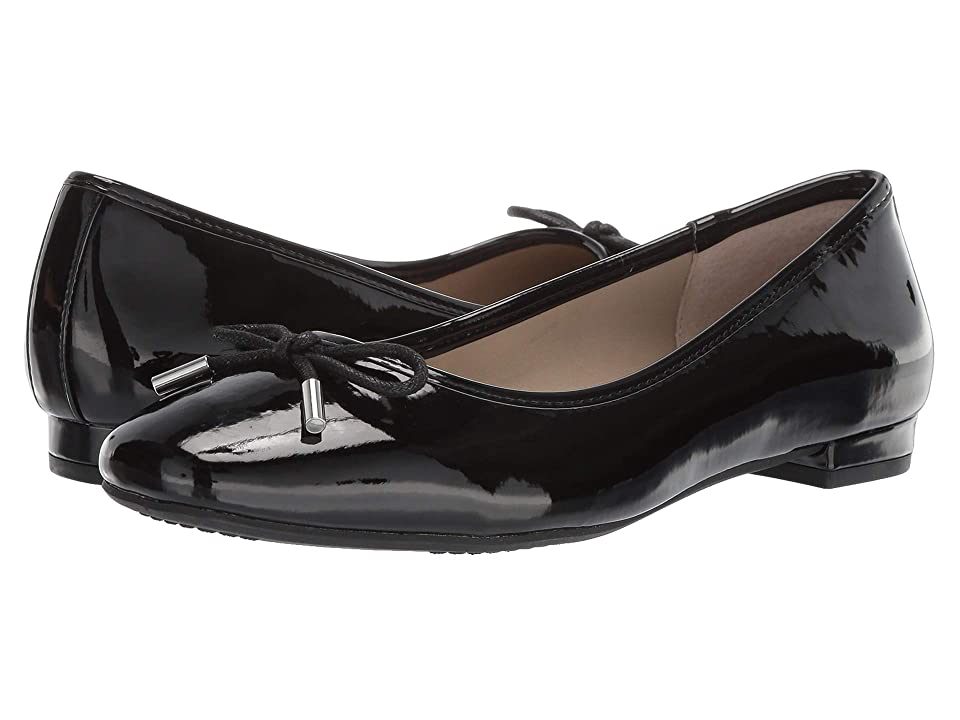 c2dcdc29f2b8 Rialto Annalynne (Black Patent) Women s Shoes