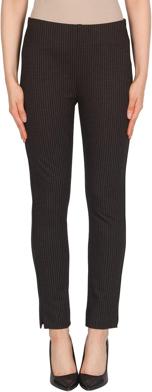 Joseph Ribkoff Elastic Waist Pin Stripe Pant  Style 174924
