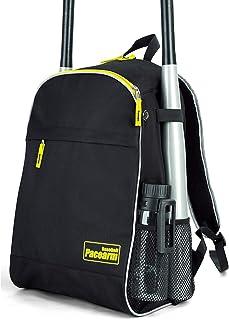 PaceArm Youth Baseball Bat Bag, 2020 Softball Bag & Tball Baseball Equipment Backpack for Boys, Teen, Adults - Hold 2 Bats, 2 Bottles, Helmet, Glove - Vented Design, Fence Hook