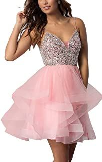 Women's Short Dress Tulle Mini Prom Cocktail Dress Party Gown