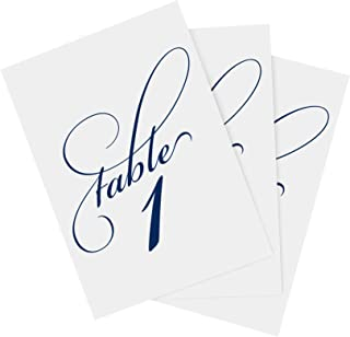 Best sunflower table number cards Reviews
