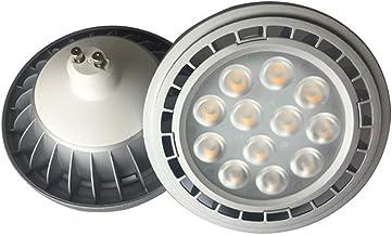 LED Light Bulbs Gegoten Aluminium Behuizing 2 Stuks LED AR111 Lamp 3030 Lichten Kralen 12W 85-265V ES111 Liner-venture (Si...