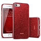 ESR Hülle kompatibel mitiPhone8,iPhone7 Hülle, Luxus Glitzer Bling [Glänzende...