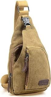 men canvas chest bag casual messengmilitary handdesign practical shouldfor qn036