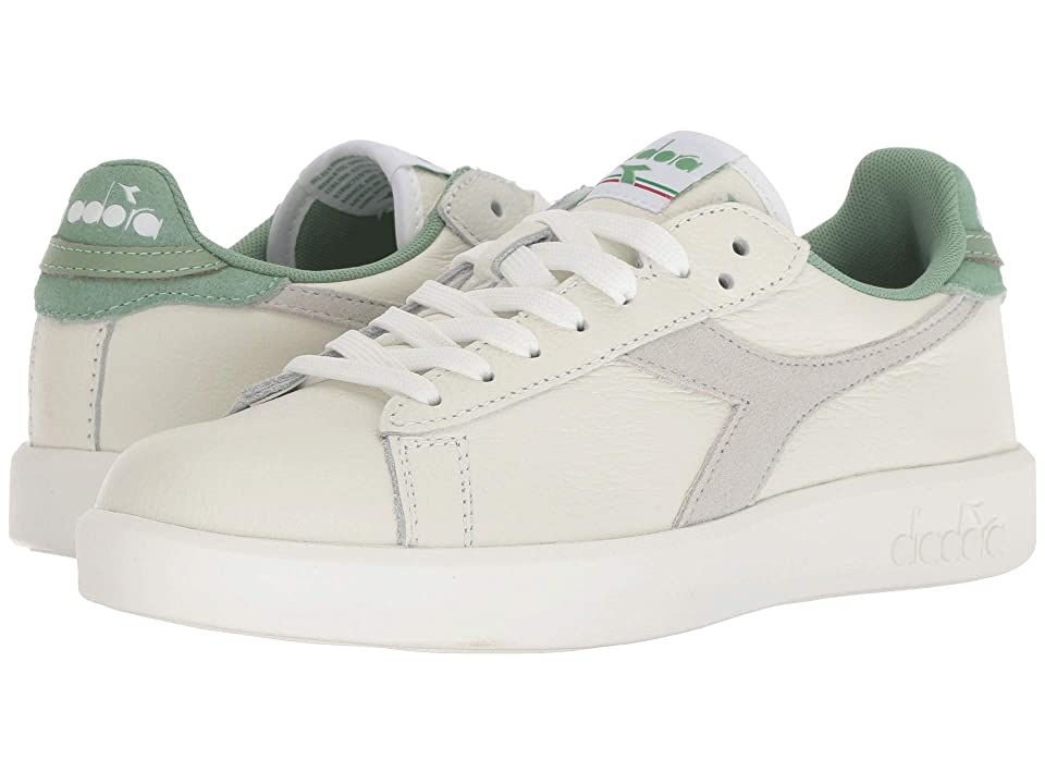 Diadora Game Wide L (White/Basil) Women