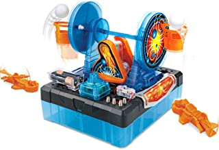 STEM Science Lab Kit Spin Shoot Learning Basic Circuit DIY Building Science Experiment Kit for Kids Age 8+