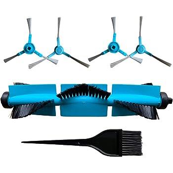 REYEE Pack de 8 Kit de Accesorios de Repuesto para Cecotec Conga 3090 Robot Aspiradora 1- Cepillo Principal & 1- Herramienta de Limpieza & 4- Cepillo Lateral & 2- Trapo de Limpieza: Amazon.es: Hogar