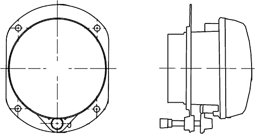 Hella 1n0 008 582 001 Nebelscheinwerfer Ff Halogen H7 12v Rund Glasklare Streuscheibe Transparent Einbau Einbauort Links Rechts Auto