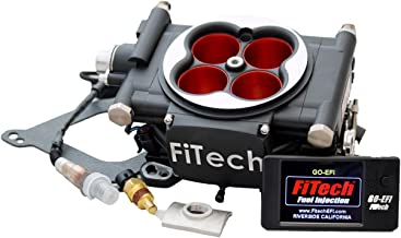FiTech Fuel Injection Go EFI 4 - 600 HP System - Power Adder - Matte Black -30004