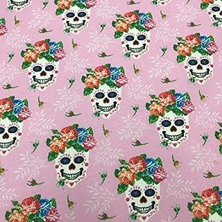 0.5 Metro unicornio rosa de algodón Digital 100/% Tela De Algodón 147cm Ancho