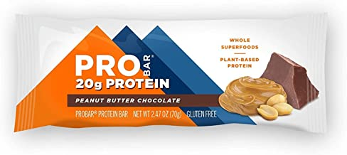 product image for Probar, Bar Base Protein Peanut Butter Chocolate, 2.46 Ounce