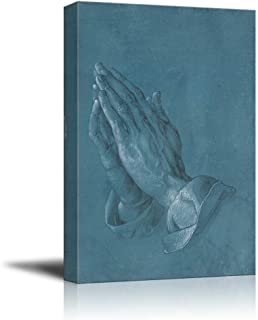 wall26 - Praying Hands by Albrecht Durer - Canvas Print Wall Art Famous Painting Reproduction - 12