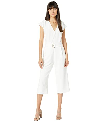 Bishop + Young Front Tie Jumpsuit (White) Women