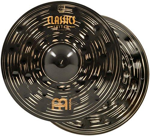 Meinl 14' Hihat (Hi Hat) Cymbal Pair - Classics Custom Dark - Made in Germany, 2-YEAR...