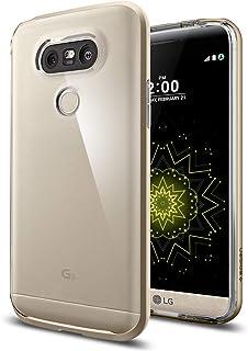 Spigen LG G5 Neo Hybrid CRYSTAL transparent Back cover/case - Champagne Gold