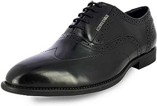 Alberto Torresi Men's Black Leather Formal Shoes-9 UK (43 EU) (58699)