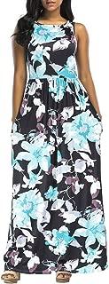 Women Dress Maxi Party Evening Beach Sundress Summer Casual Boho Dress