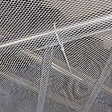 LoveOlvido Filet de sécurité épaissi Filet de Protection pour Balcon Filet de décoration Filet de sécurité pour Enfants Filet de Protection pour escalier - Blanc - 2M