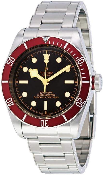 Orologio tudor heritage da uomo automatico cronometro quadrante nero m79230r-0012