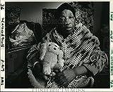 Vintage Photos 1985 Press Photo Sarah Marie Bastian of Lafon Nursing Home New Orleans
