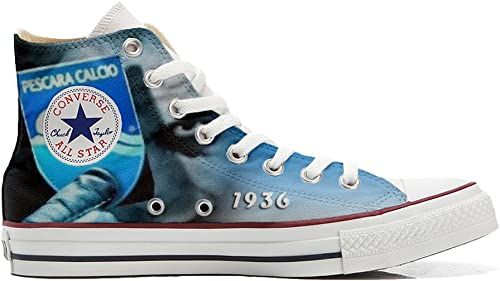 Converse All Star schuhe Personalizados (Producto Handmade) (Producto Handmade) Italian Soccer