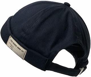 Clape Unique Docker Cap Hats Urban Rolled Beanie Women Men Summer Thin Skullcap Sailor Cap Lightweight Bill-Less Watch Hat