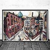 CNHNWJ Deutschland Künstler Max Beckmann Gemälde Poster