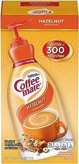 Nestle Coffee mate Coffee Creamer, Hazelnut, Liquid Pump Bottle, 50.7 Ounces
