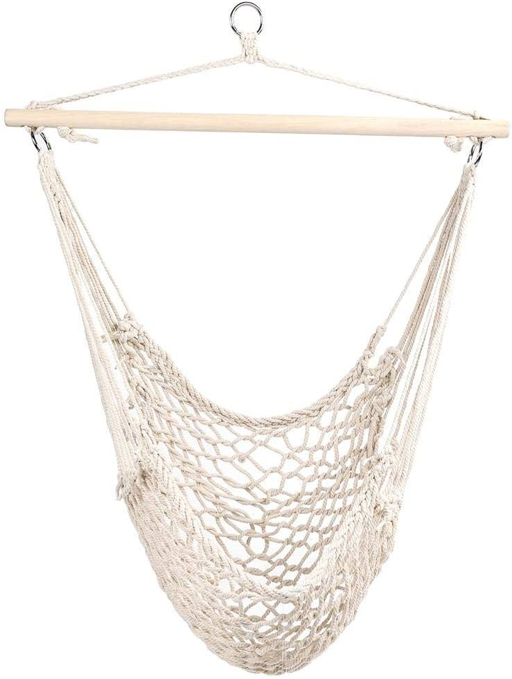 MAGT Outdoor Max 65% OFF Ranking TOP13 Swing Mesh Camping Cha Hanging White
