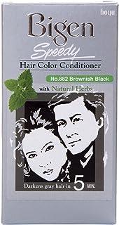 Bigen Speedy Hair Color Conditioner Brownish Black