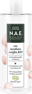 N.A.E. - Eau Micellaire Démaquillante Nettoyante Visage - Parfum de Rose Frais - Certifiée Bio - Formule Végane - 99% des ...