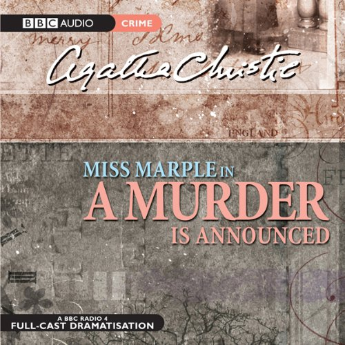 A Murder is Announced (Dramatised) audiobook cover art