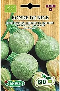 Germisem Orgánica Ronde de Nice Semillas de Calabacín 4 g, ECBIO4017