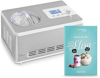 Heladera yogurtera 2 en 1 ELISA con compresor de refrigeraci