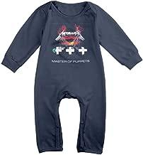 WZENMEBAN Metallica-Master of Puppets Baby Onesie Romper Jumpsuit Bodysuits