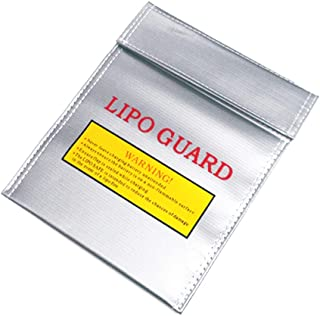 Youdepot Lipo Safe Bag Fireproof Lipo Guard Sleeve Sack Large Size Explosion-proof Safety Pouch for Charge and Storage - 1...